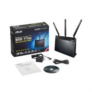 Asus RT-AC68U Dual-Band Wireless-AC1900 Gigabit Router Black (RT-AC68U/BK)