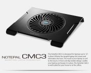 Cooler Master Notepal CMC3 Black (R9-NBC-CMC3-GP)