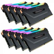 Corsair 128GB DDR4 3600MHz Kit(8x16GB) Vengeance RGB Pro Black (CMW128GX4M8X3600C18)
