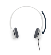 Logitech H150 Stereo Headset Cloud White (981-000350)