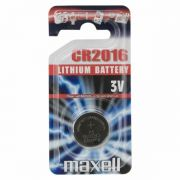 Maxell CR 2016 1db-os Lithium gombelem (18740)