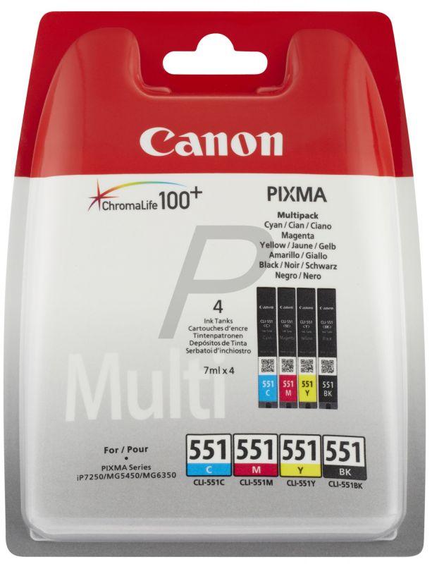 Canon CLI-551 Color Multipack (6509B008)