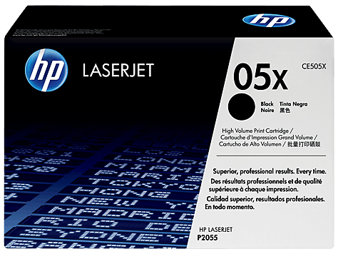 HP CE505X (05X) Black toner