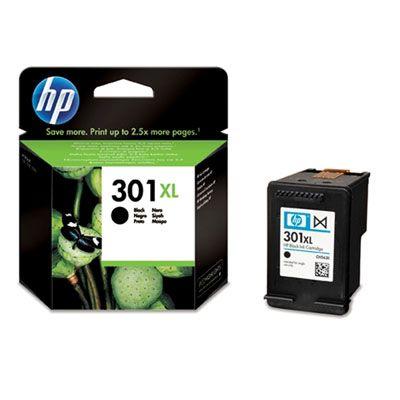 HP CH563EE (301XL) Black tintapatron